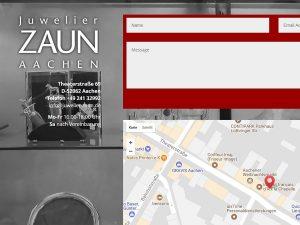 Juwelier Zaun – jetzt responsive