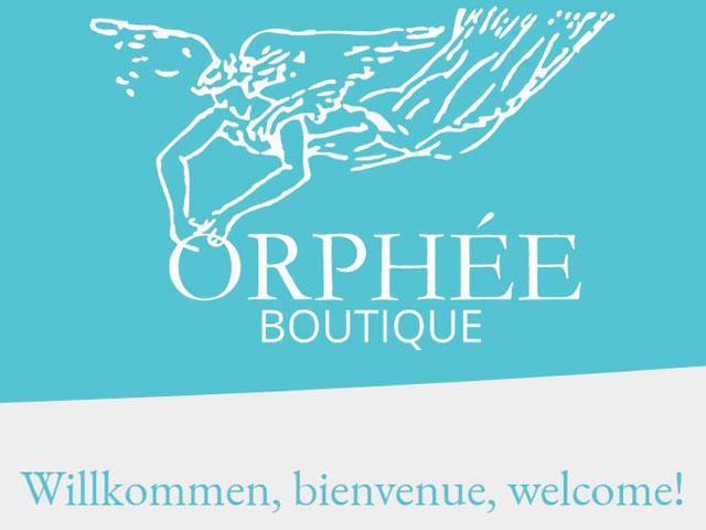 Website für den Laden mit dem Engel