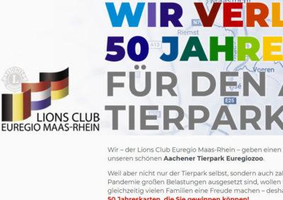 Verlosung für den Lions Club