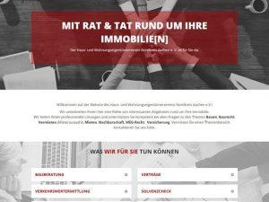 Haus- und Grundbesitzerverein mit frischer Website